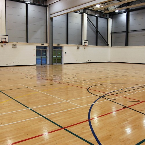 West Lothian College - Sports Hall