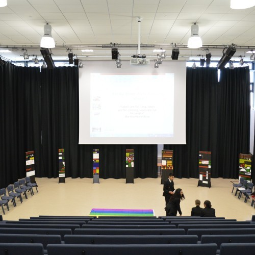 Derby Moor Main Performance Hall