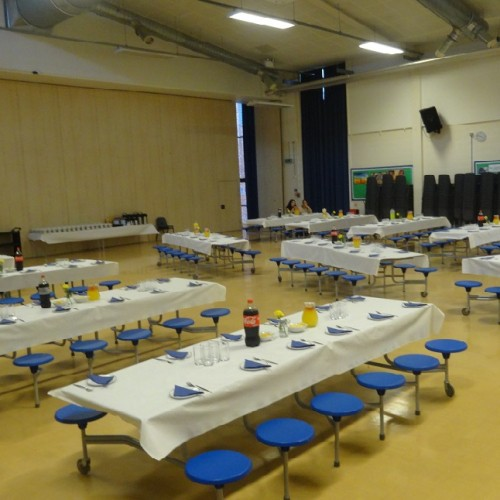 Dining Hall at Lea Valley School