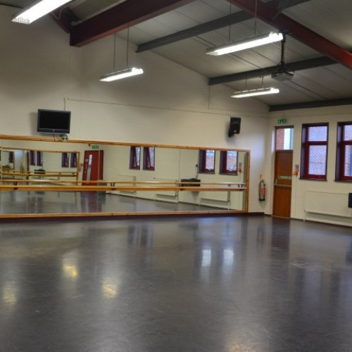 The Dance Studio at Alleyn's School