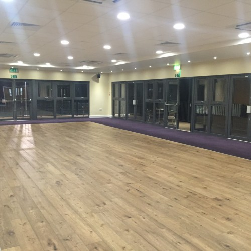 Syke suite within Richings Sports Park
