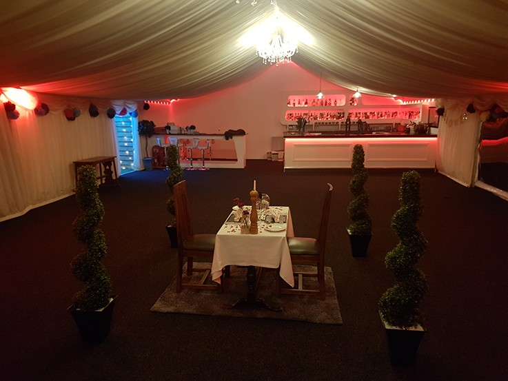 The Ash Marquee (party/Event/group use)