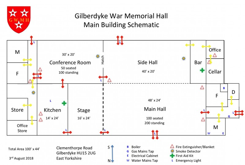 Gilberdyke War Memorial Hall
