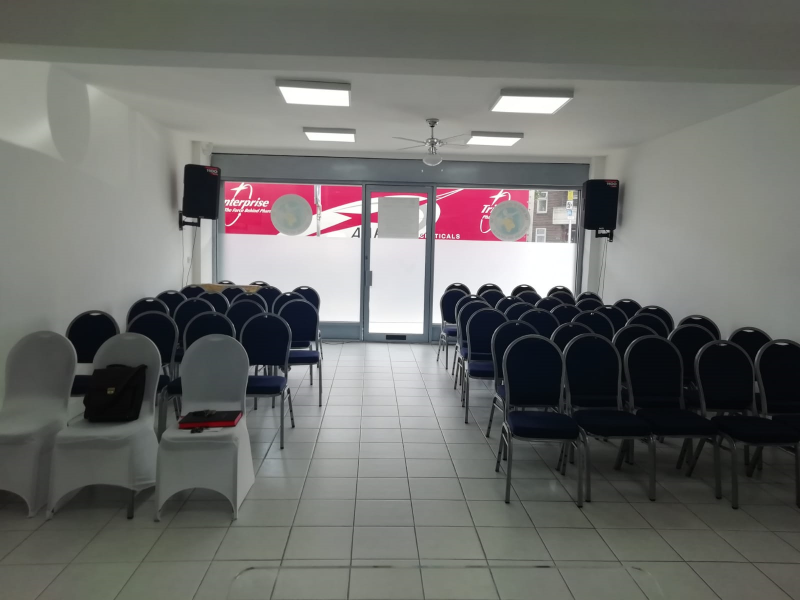 Modern church hall for rent / hire